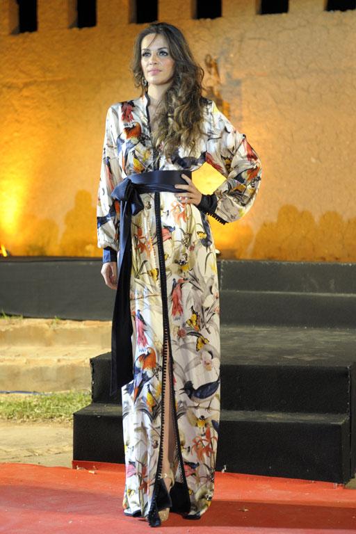 Robe de soiree au maroc