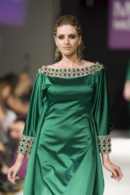 gandoura marocaine femme